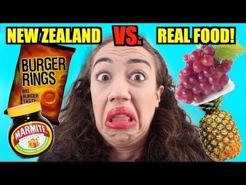 AUSTRALIAN & NEW ZEALAND FOOD VS. REAL FOOD!