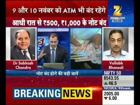 New note of Rs.2000 unveiled by the govt, Current bank notes of Rs.1000 and 500 abolished overnight