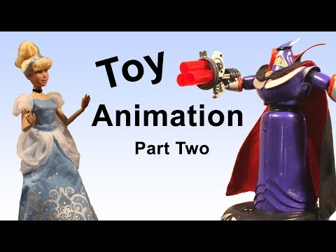 Stop Motion Tutorial:  Toy Animation Pt 2