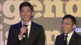 Lee Yong Dae at welcome Party Legends Vision event Yonex All England