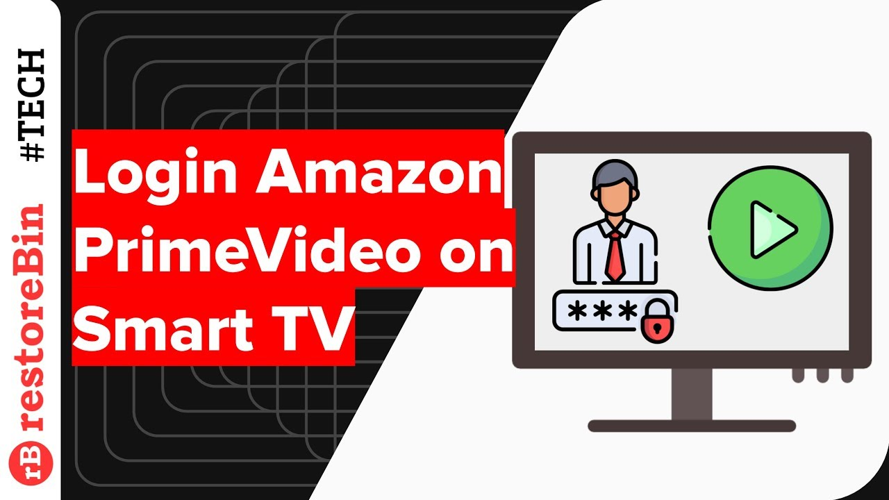 How To Login Amazon Prime Video App On Smart Tv Youtube