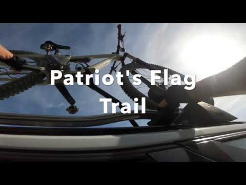Mountain Biking Patriot Trail in SJC w/Vicki on a Saturday (quickie); Yeti SB115