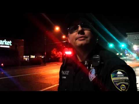 Stop in Anacortes, WA With A Curious Cop
