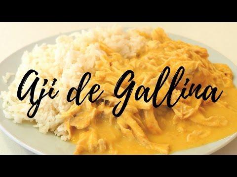 Ají de Gallina: Delicous Peruvian cuisine in Lima, Peru