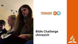 Bible Challenge chinesich