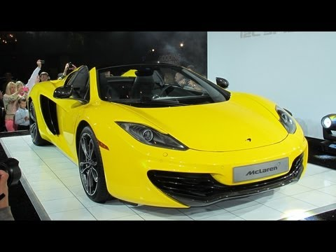 McLaren Designer Reveals Secrets Of The 12C Spider --- /ROAD TESTAMENT