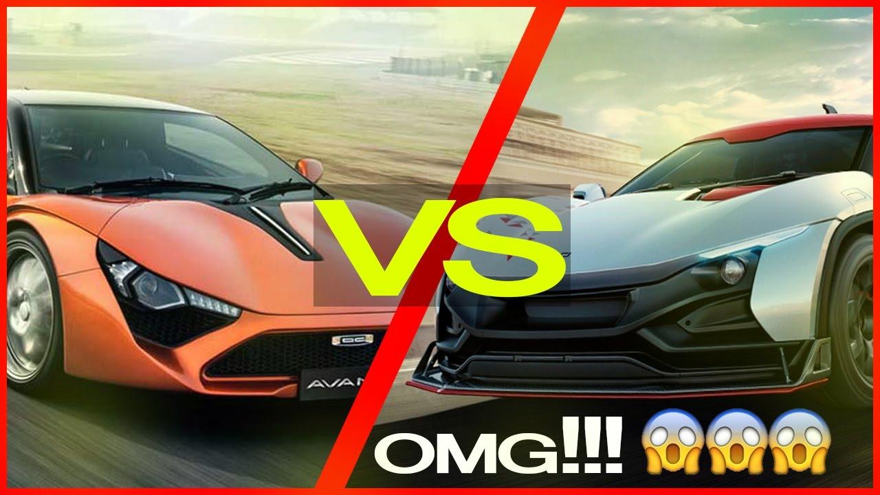 RaceMO VS Avanti Comparison Between Indian Made Sports Cars - Sports cars comparison