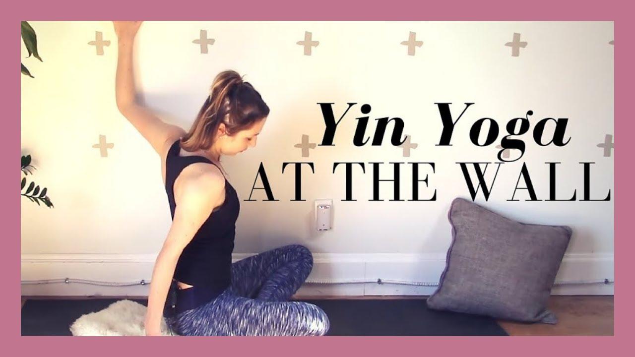 Yin Yoga At The Wall