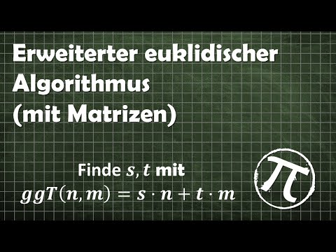 Implementation from scratch of Extended Euclidean Algorithm from YouTube · Duration:  4 minutes 57 seconds