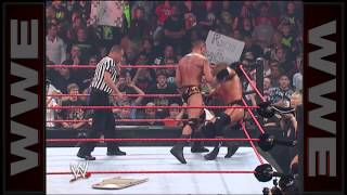 Triple H vs. Randy Orton - Last Man Standing Match: No Mercy 2007