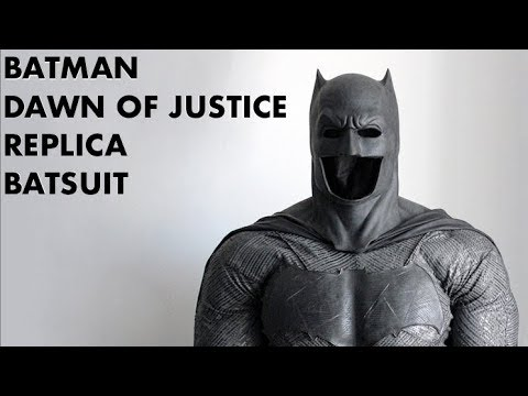 Batman v Superman Batsuit Replica