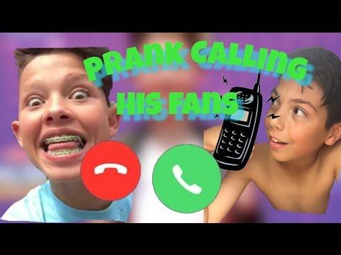 Calling Girls As Jacob Sartorius Youtube