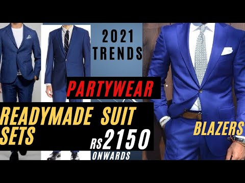 MENS SUITS AND