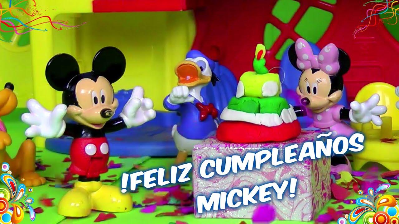 La casa de mickey mouse juguete cumplea os de mickey - Youtube casa mickey mouse ...