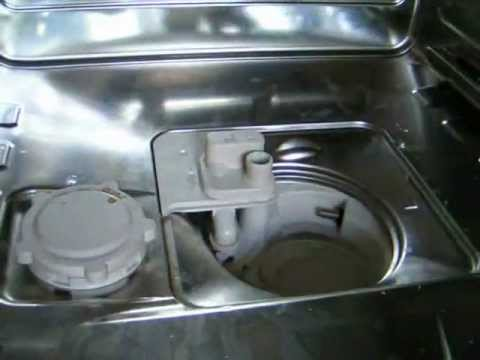 Cleaning Miele dishwasher - YouTube