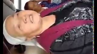 Казахская Бабушка в поезде