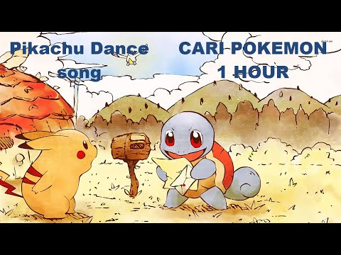 "[ 1 HOUR ] MP3 "" CARI POKEMON REMIX "" - POKEMON DANCE SONG"