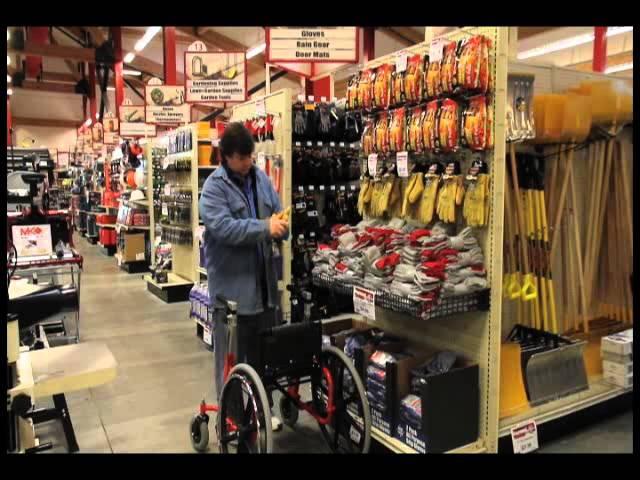 Walker Wheelchair Combo & Hardware Store (Walk'n'Chair)