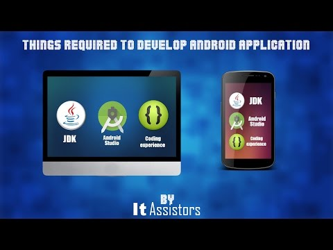 Things required to develop android apps