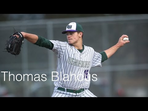 Thomas Blahous Edmonds Woodway High School LHP Class of 2020
