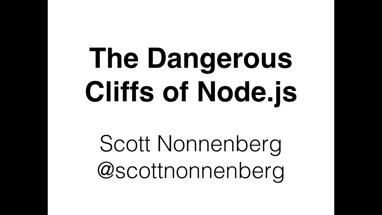 Breaking other servers with Node js | Scott Nonnenberg