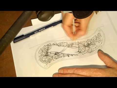 Подготовка и перенос рисунка для гравировки. Часть 1