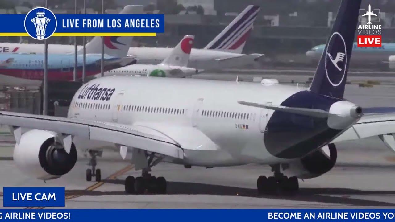 🔴LIVE Sunset/Night Plane Spotting at LAX on July 21st, 2021 + ATC