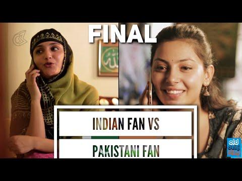 ICC Champion's Trophy 2017 | Indian Cricket Fan VS Pakistan Cricket Fan FINAL | Mauka Mauka - (ODF)