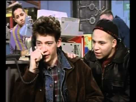 Press Gang was all about telephones