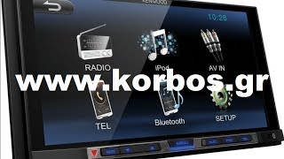 Suzuki Vitara with 2 Din Multimedia Kenwood dmx-100bt and Steering Wheels www.korbos.gr