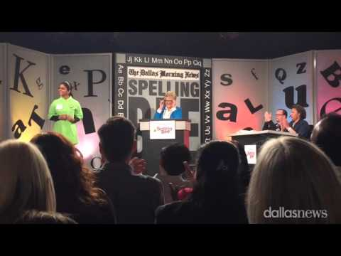 The 2016 Dallas Morning News Spelling Bee