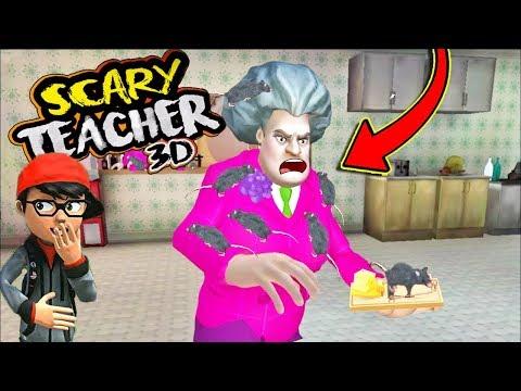 FARE ŞAKASI KÖTÜ ÖĞRETMEN 🤪  Scary Teacher Yeni Bölüm