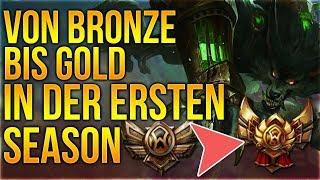 Von Bronze Elo bis Gold  in der ersten Season mit Alucard! [League of Legends] [Deutsch / German]