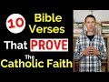 Gambar cover Catholic in the Bible! 10 Bible Verses that PROVE the Catholic Faith