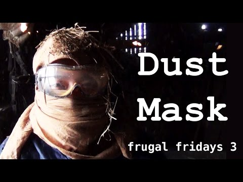 How to Tie a Keffiyeh, an Improvised Dust Mask (Frugal Fridays 3)