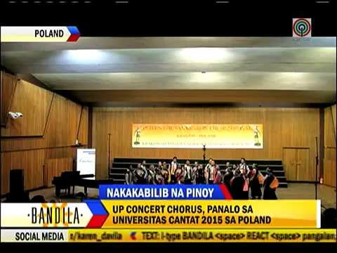 UP Concert Chorus wins top prize in Poland