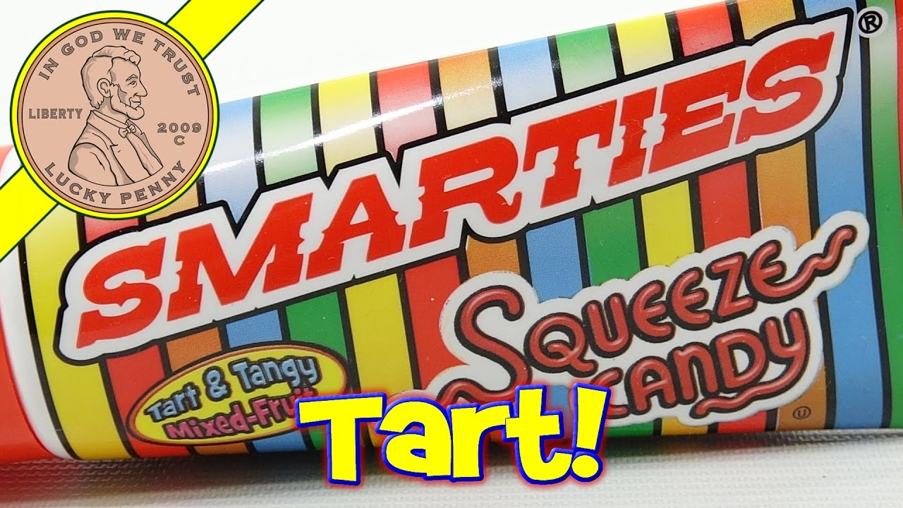 Smarties Squeeze Candy Tart & Tangy Mixed-Fruit