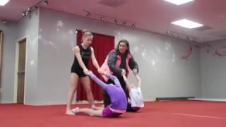 Annie & Hayley Le Blanc Gymnastics - Locked Away