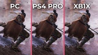 Sekiro – PC 4K Max vs. PS4 Pro vs. Xbox One X Graphics Comparison
