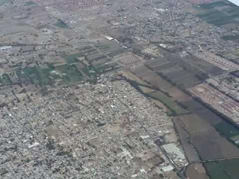 Flug über Mexico-City 3