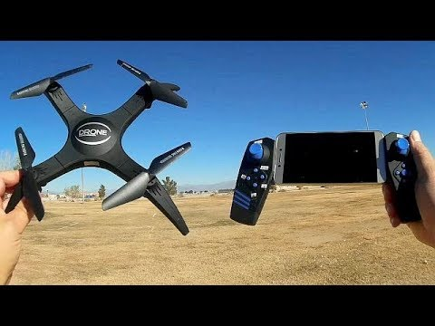 SM966HC Removeable Arms 720p HD FPV Camera Drone Flight Test Review