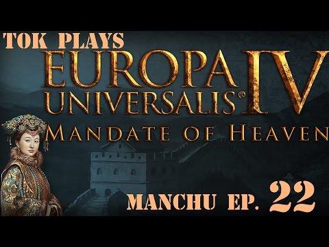 Tok plays EU4: Mandate of Heaven - Manchu ep. 22 - Gold Mountain