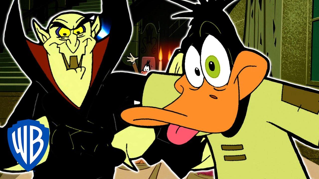 Download Looney Tunes | Duck Dodgers Hypnotised by Vampire | WB Kids