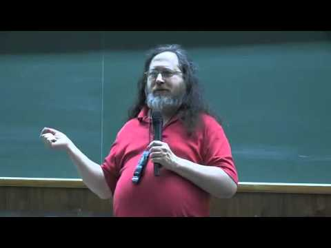 Richard Stallman   Societe libre et Solidaire   piratage adopi censure orwell   conference marseille