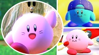 Kirb in Kirby Star Allies Part 2 | Secret Classic Level Easter Egg, Title Screen & Mini Games