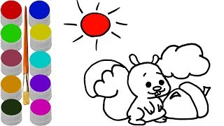 Learn colors For Children / Coloring Pages For Kids