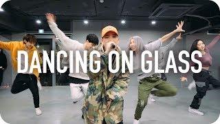 DANCING ON GLASS - BUMKEY (LIVE) / Mina Myoung X Shawn Choreography with BUMKEY