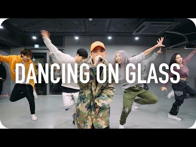 DANCING ON GLASS - BUMKEY (LIVE) / Mina Myoung X Shawn Choreography with BUMKEY
