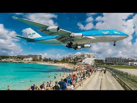 boeing 747 low landing