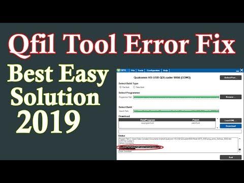 Qualcomm Qfil Flash Tool Flashing Error Problem Solution